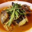 鮮魚のトムヤムスープ仕立