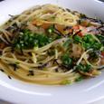 根菜のスパゲティ
