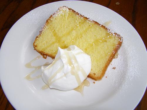 レモンバニラシフォンケーキ