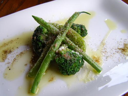 緑野菜のアンチョビマリネ