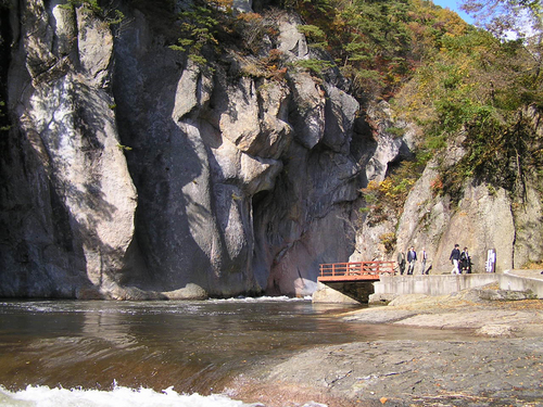 吹割の滝09