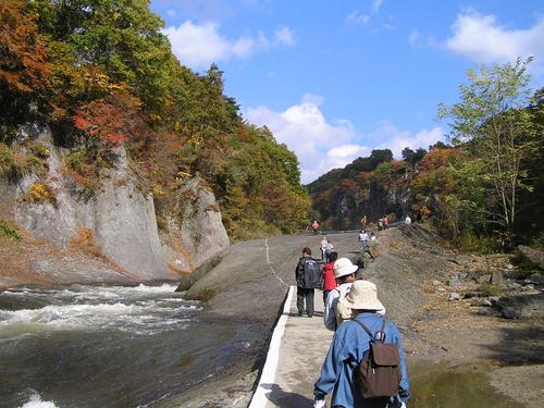 吹割の滝12