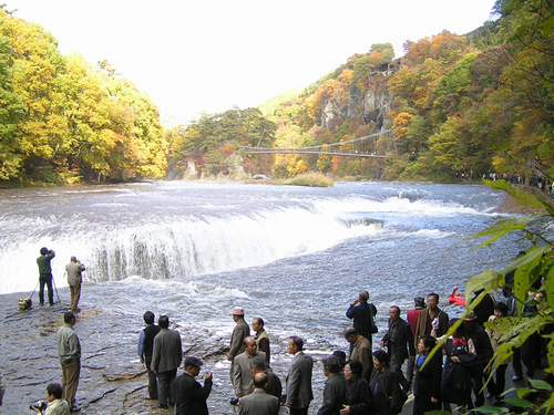 吹割の滝18