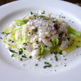 白いんげん豆と花イカのマリネ サラダ仕立
