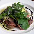 牛肉のタリアータサラダ仕立て
