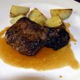 特注:牛フィレ肉のステーキ・マディラソース