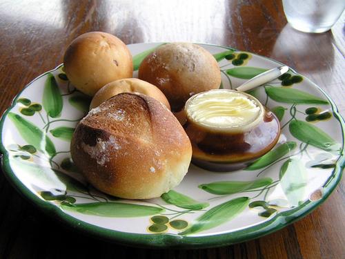 自家製のおいしいパン