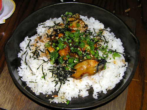 牡蠣味噌丼